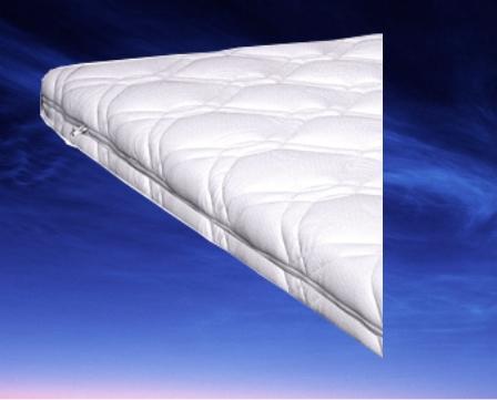 Topdekmatras Favourite, maat 90 x 200 cm, 6 cm dik