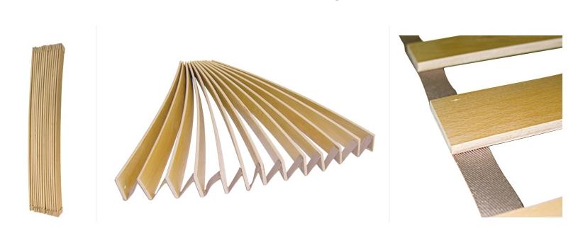Lattenbodem 120 cm, lengte 190 - 210 cm