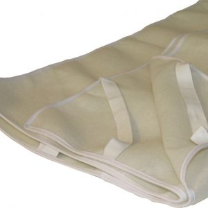 Matras onderlegger, 120 cm breed, vilt (onderzijde)