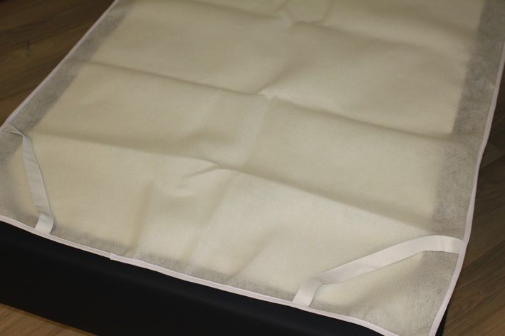 Matras onderlegger, 140 cm breed, vilt (onderzijde)
