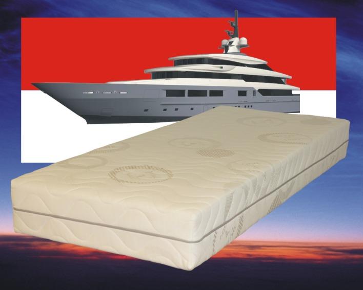 Maatwerk matras traagschuim coolgel Monaco Special