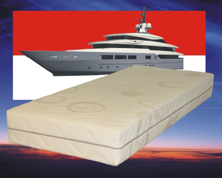 Matras 70 x 220 cm , Model: Monaco Special, Dikte: 25 cm