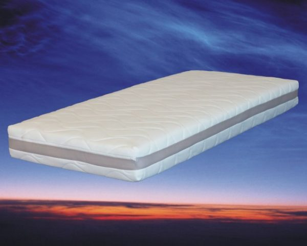 Matras pocketvering en traagschuim, type Nasa 3D