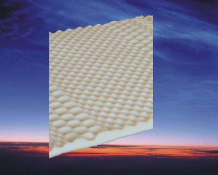 Matras 80 x 190 cm, model: Nasa 3D pocketvering traagschuim