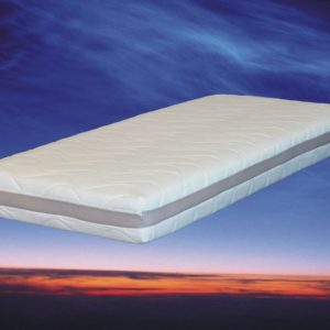 Matras 130 x 200 cm, model: Nasa 3D pocketvering traagschuim