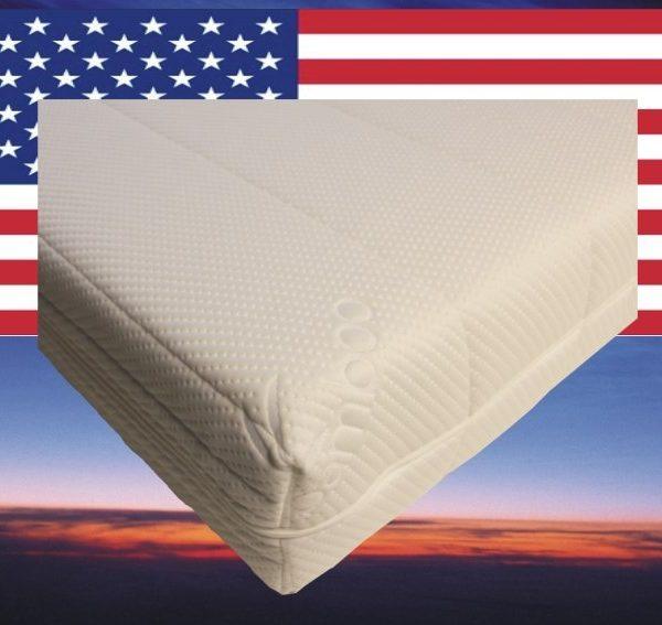 Pocketvering matras koudschuim 90x220 cm