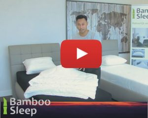 Bamboe dekbedden video