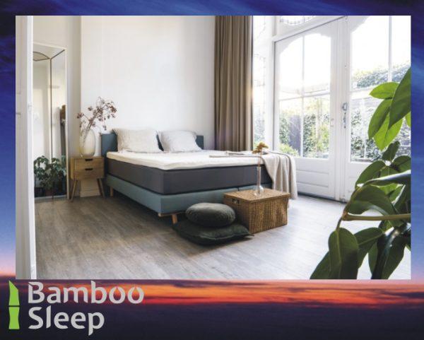 Bamboe hoeslaken topdekmatras