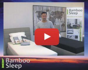 Bamboe hoeslaken video uitleg