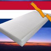 Pocketvering matras met koudschuim 90 x 190