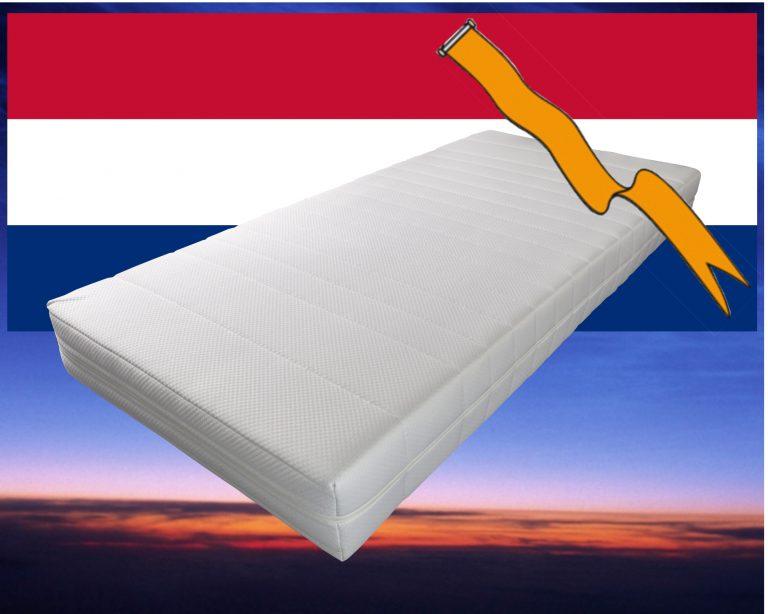 Pocketvering matras met koudschuim 120 x 190
