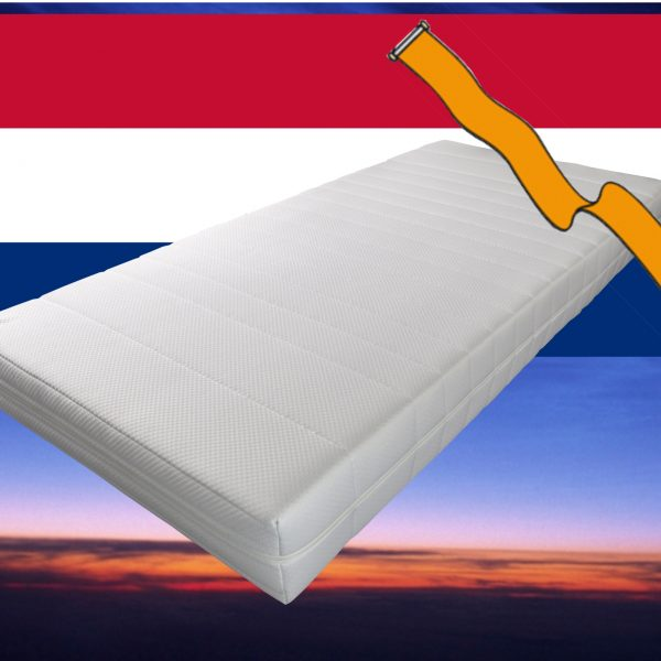 Pocketvering matras met koudschuim 130 x 190