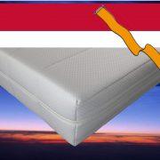Pocketvering matras met koudschuim 120 x 210