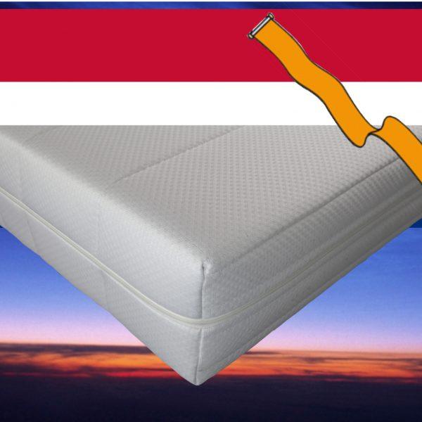 Pocketvering matras met koudschuim 130 x 210