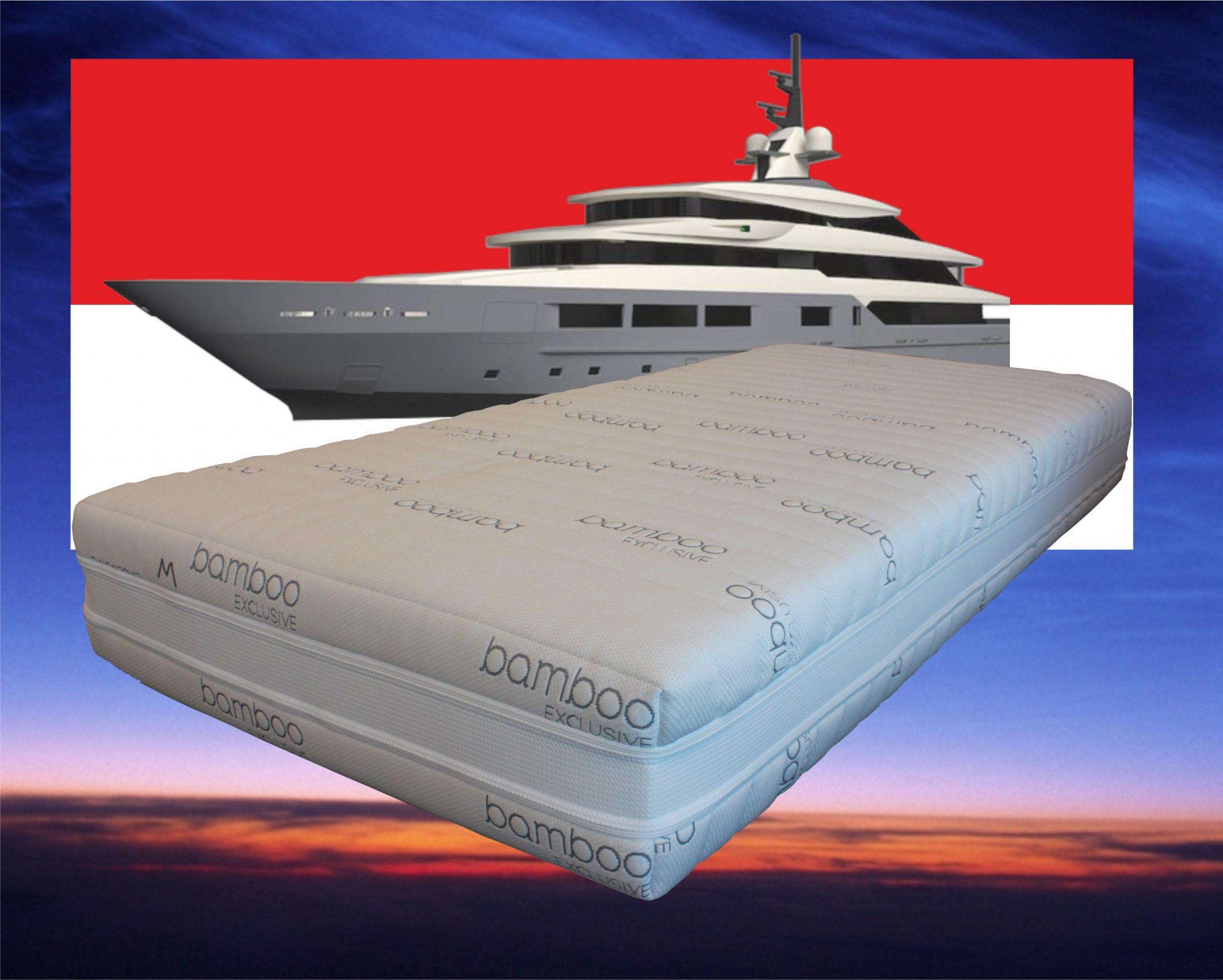 Matras pocketvering met traagschuim, type Monaco Special, hoogte 25 cm