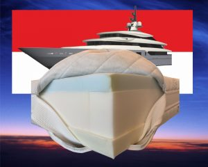 Monaco Special matras traagschuim