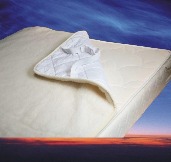 Topcover merino wol 80x190 cm