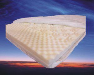Topdekmatras Nasa 3D 140x210 cm