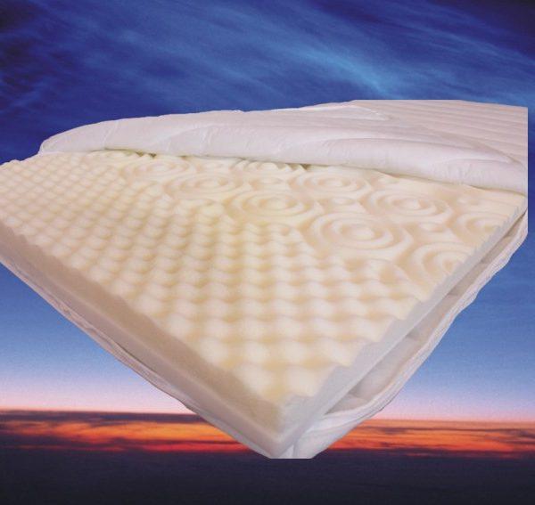 Topdekmatras Nasa 3D 120x190 cm traagschuim