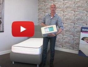 Pocketvering matras Favourite 100x200 cm